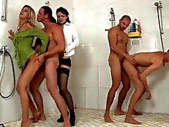 bisexuellen gruppen-sex hardcore