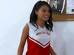 Asian cheerleader super hot