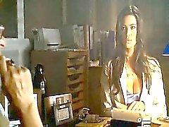 Manuela Arcuri in a bikini showing off awesome cleavage and