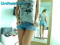 Incredible Big Titty Webcam Girl
