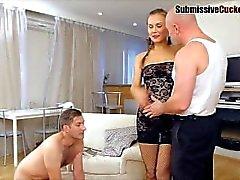 corno femdom cuckold - humilhações humilhação