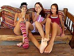 fetichismo del pie lesbiana softcore adolescente