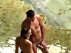 amador praia câmaras ocultas ao ar livre