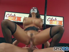 Spizoo - Milf Ava Adams is punished by Wolverine, big boobs