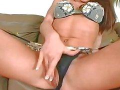 Sexy Brunette Babe Vanessa Lane...