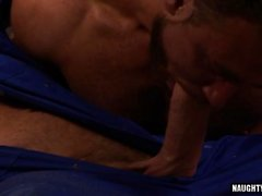 Big dick gay dildo and cumshot