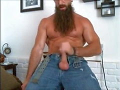 Hot bear, hot beard, hot cock.
