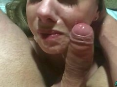 Girl in Pigtails Gets a Hard Gagging Rough POV Face Fuck