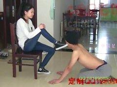 fuß - beherrschung fuße slave chinesische mädchen