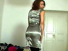 Perfectly shaped teen lapdances for horny stranger