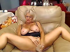 Webcam - Busty 47 year old slut with big pussy teasing, #3