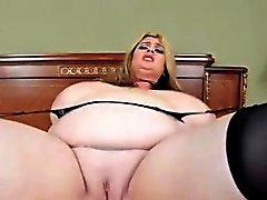 bbw peitos grandes grandes galos loira