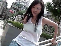 asiatisch chinesisch blinkt behaart
