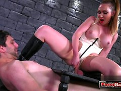 bdsm big boobs domina fetisch fuß-fetisch