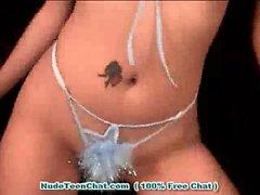 SEXY TEEN FILIPINA STRIPTEASE - Beautiful Pinay Bargirl Nude