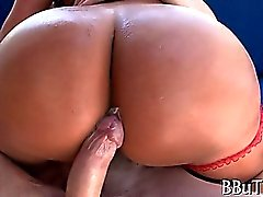 Awesome gal is pounded so well