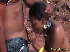 african threesome fuck orgy