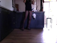 your sissy slutty housewife waitin for u in the kitchen!