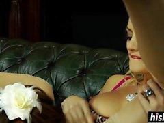 anal stora bröst blondin creampie cumshot
