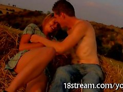couple étudiant caucasien amateur de plein air