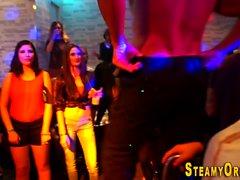 Cfnm teen fucks stripper