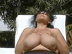 bbw big boobs brünett