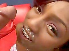 Jada Ass To Mouth - Cum On Braces.