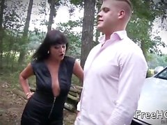 Tera Joy - Outdoor Fully Clothed Sex Turns Tera On