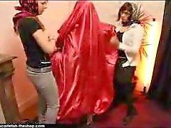 Scarfetish: Silk mummification