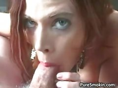 amateur mamada fetiche pelirrojo de fumar
