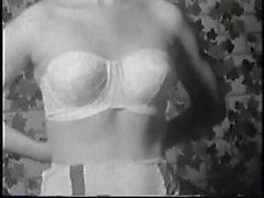 morenas peludo vintage nylon