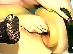 The Original Huge Tit MILF Toys Her Ass