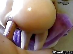 Absolutely great homemade amateur anal fuck