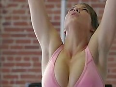 2 Girls Workout Their Bodies Then Each Other