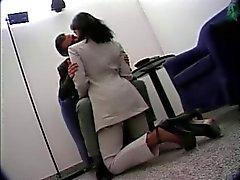 Italian office sex
