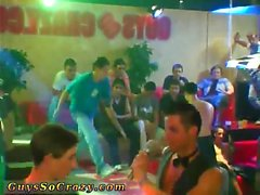 Boys group fuck video gay This awesome male stripper soiree