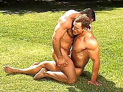 Beefy bikers enjoy it - the Naked Breed