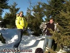 Public nude gay and outdoor solo male strippers Snow Bunnies