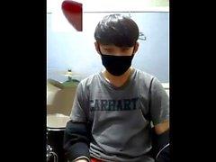 off tonåring unga enligt shorts bukta asiatisk solo manliga