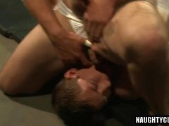 Hot gay punish with cumshot
