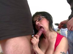 Real mature mothers seduce young sons