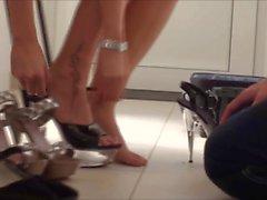 femdom fetichismo del pie tacones altos amante