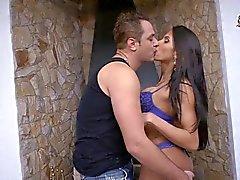 Busty Brazilian Shemale Michely Fucks Guy