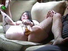 Amateur mature couple blowjob