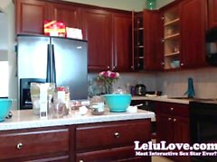 Lelu Love-WEBCAM: MasturBAKING Cupcakes With Vibrator Fun
