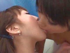 lezbiyen genç japon