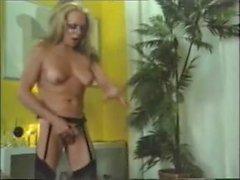 Vintage shemale tricks man into sex