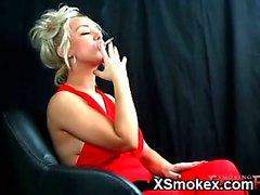 anal fetiche de fumar