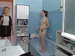 Lesbo teenies licking hairless wet cracks in bath menacing-fearsome dilettante,menacing lesbo,menacing teenies porn at ThisVid tube
