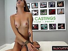 Teen Krista Takes It All In A Casting